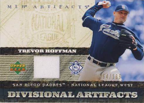2007 Artifacts Divisional Artifacts #HO Trevor Hoffman