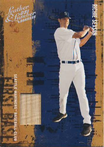 2005 Leather and Lumber Materials Bat #114 Richie Sexson/250