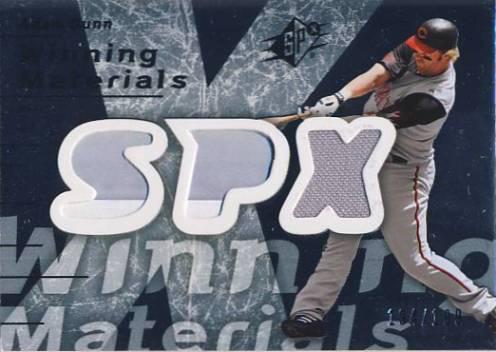 2007 SPx Winning Materials 199 Silver #AD Adam Dunn/199
