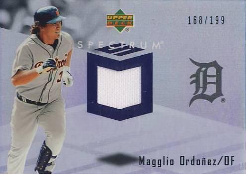 2007 Upper Deck Spectrum Swatches #OR Magglio Ordonez