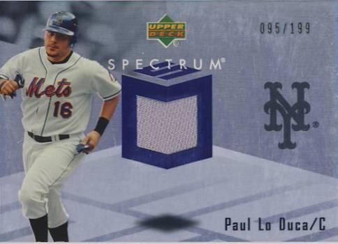 2007 Upper Deck Spectrum Swatches #PL Paul Lo Duca