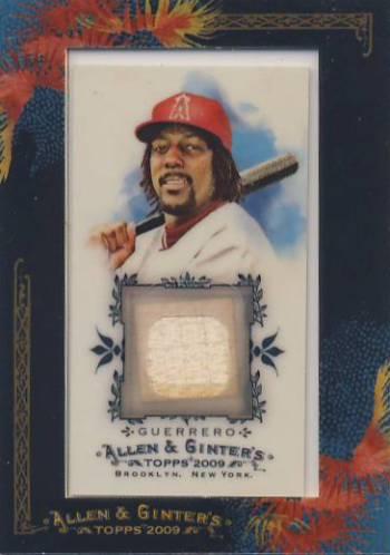 2009 Topps Allen and Ginter Relics #VG Vladimir Guerrero Bat C