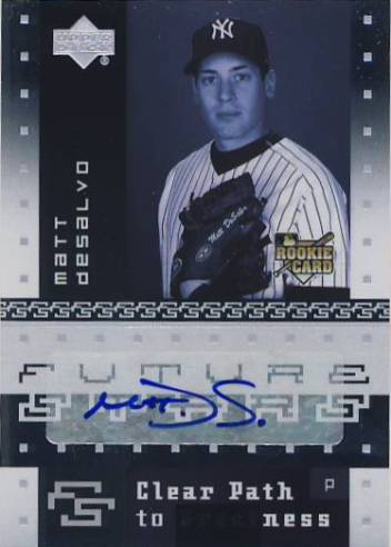 2007 Upper Deck Future Stars #185 Matt DeSalvo AU (RC)
