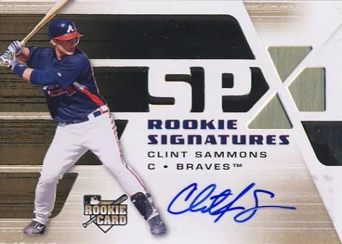 2008 SPx #104 Clint Sammons AU (RC)