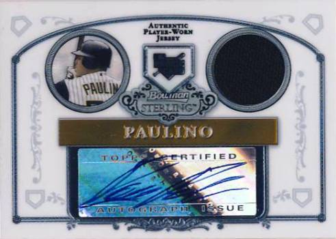 2006 Bowman Sterling #RP Ronny Paulino Jsy AU (RC)