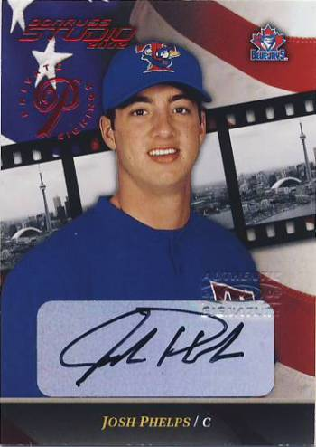 2002 Studio Private Signings #111 Josh Phelps/250