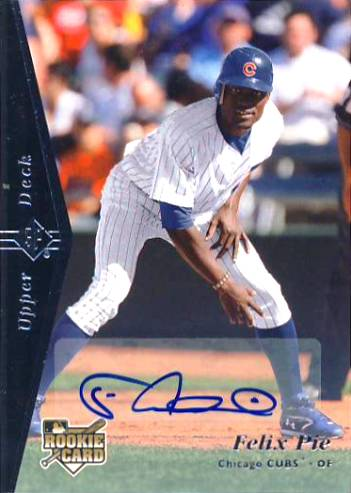 2007 SP Rookie Edition Autographs #154 Felix Pie 95