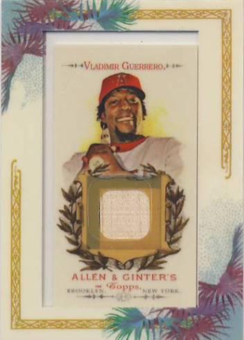 2007 Topps Allen and Ginter Relics #VG Vladimir Guerrero Bat H