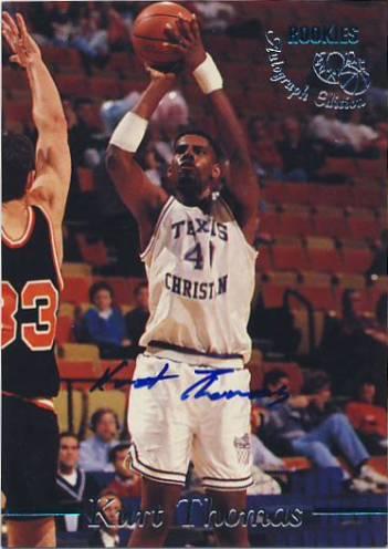 1995 Classic Autographs #9 Kurt Thomas/3420