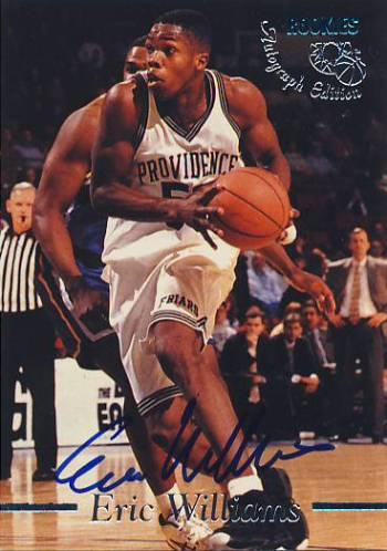 1995 Classic Autographs #13 Eric Williams/2435
