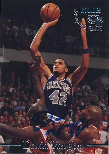 1995 Classic Autographs #23 David Vaughn/3320