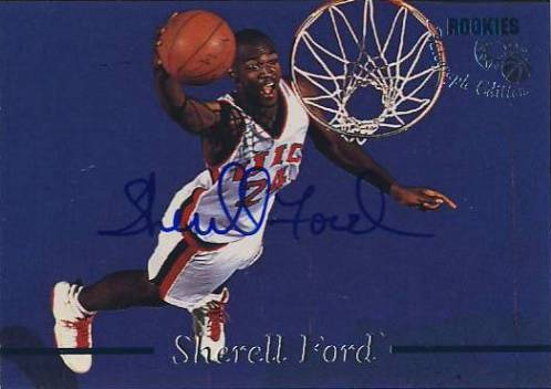 1995 Classic Autographs #24 Sherrell Ford/3635