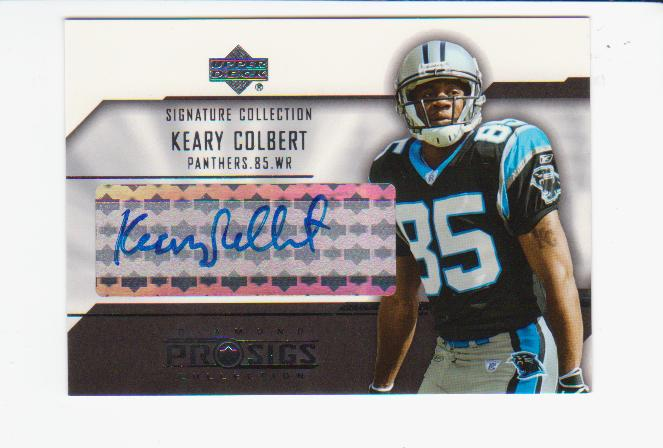 2004 UD Diamond Pro Sigs Signature Collection #SCKC Keary Colbert