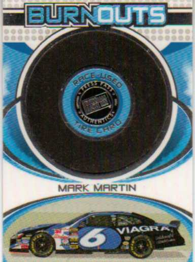 2006 Press Pass Burnouts #HT14 Mark Martin