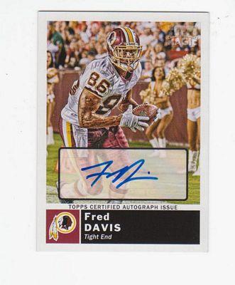 2010 Topps Magic Autographs #182 Fred Davis 2G