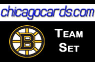 Boston Bruins 2010-11 Score 23-card Team Set with Rookies
