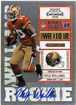 2010 Playoff Contenders #162 Kyle Williams AU/436* RC