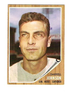 1962 Topps #16 Darrell Johnson