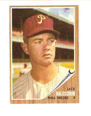 1962 Topps #46 Jack Baldschun RC
