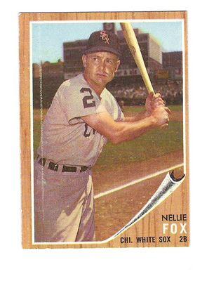 1962 Topps #73 Nellie Fox