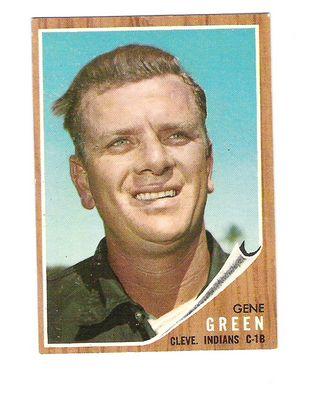 1962 Topps #78 Gene Green