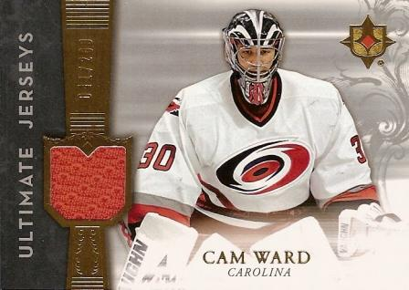 2006-07 Ultimate Collection Jerseys #UJCW Cam Ward