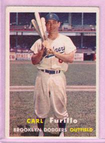 1957 Topps #45 Carl Furillo