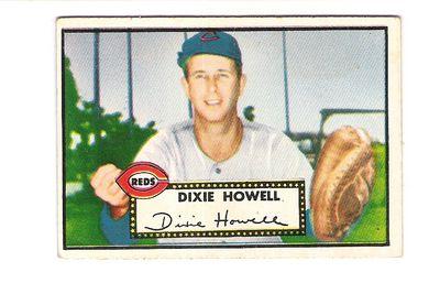 1952 Topps #135 Dixie Howell