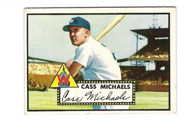 1952 Topps #178 Cass Michaels