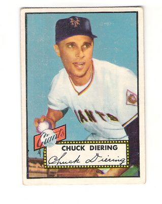 1952 Topps #265 Chuck Diering