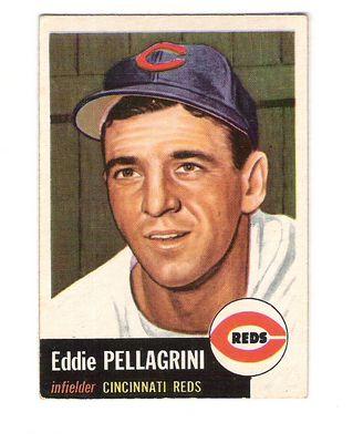 1953 Topps #28 Eddie Pellagrini