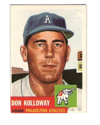 1953 Topps #97 Don Kolloway DP