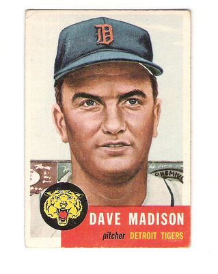 1953 Topps #99 Dave Madison