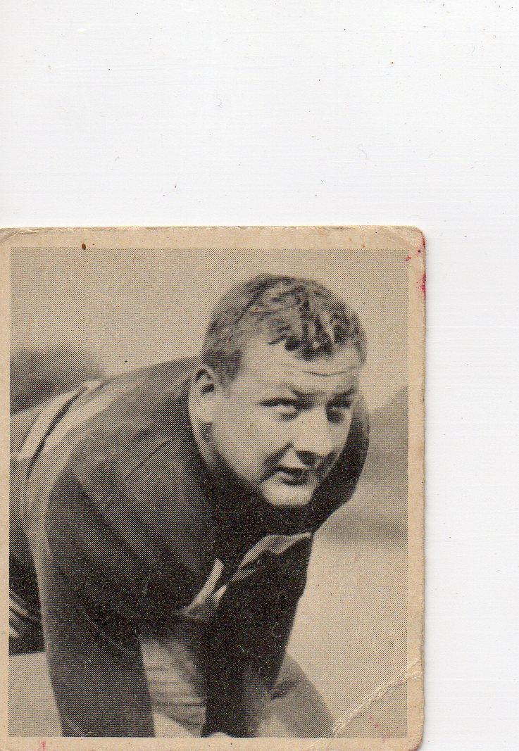 1948 Bowman #18 Vince Banonis SP RC
