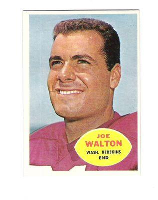 1960 Topps #127 Joe Walton RC
