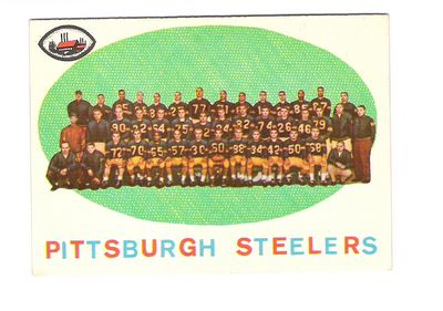 1959 Topps #146 Pittsburgh Steelers CL