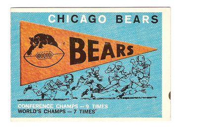 1959 Topps #153 Bears Pennant