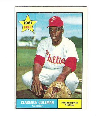 1961 Topps #502 Choo Choo Coleman RC