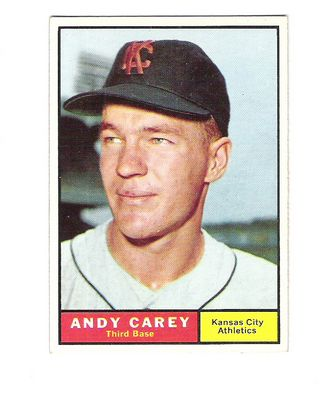 1961 Topps #518 Andy Carey