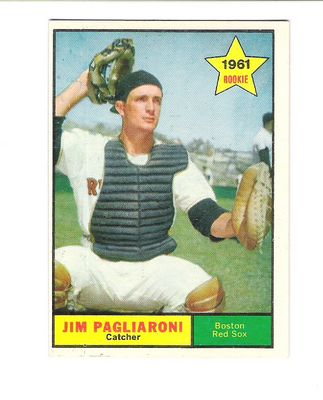 1961 Topps #519 Jim Pagliaroni RC