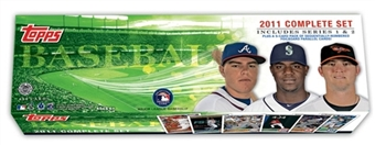 2011 Topps Baseball HOBBY HTA FACTORY Box SET With Series 1 & 2 - 660 Cards Includes Mickey Mantle Derek Jeter Albert Pujols Justin Verlander + 10 Rookie Variation Cards Inside The Set - In Stock