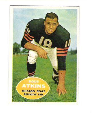 1960 Topps #20 Doug Atkins