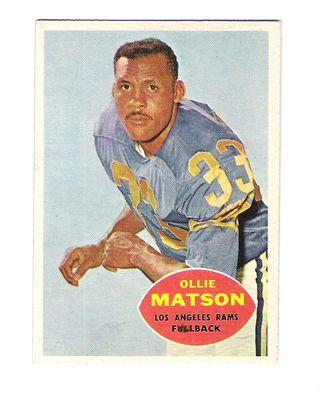 1960 Topps #63 Ollie Matson