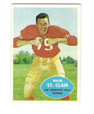 1960 Topps #118 Bob St.Clair