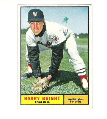 1961 Topps #447 Harry Bright