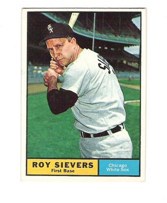 1961 Topps #470 Roy Sievers