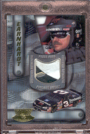 1997 ActionVision Precious Metal #6 Dale Earnhardt