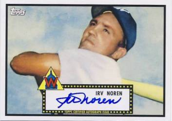 2011 Topps Lineage Autographs #IN Irv Noren