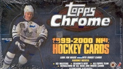 1999-00 Topps Chrome Hockey Box