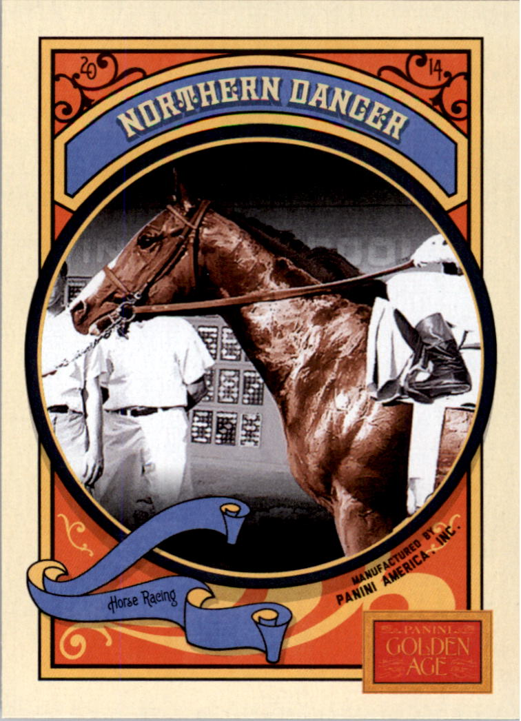 2014 Panini Golden Age #77 Northern Dancer